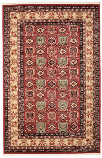 Kazak Simav Koberec 200X300 Orientální Tmavě Červená/Tmavě Hnědá ( Turecko)
