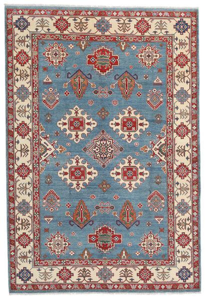 Kazak Koberec 183X269 Orientální Ručně Tkaný Tmavě Hnědá/Modrá (Vlna, Afghánistán)