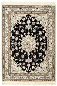 Nain Mahak Koberec 160X230 Orientální Světle Šedá/Béžová ( Turecko)