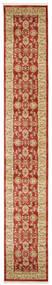 Ziegler Kaspin - Rudý Koberec 80X500 Orientální Běhoun Tmavě Červená/Tmavá Béžová ( Turecko)