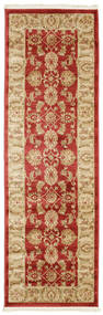 Ziegler Kaspin - Rudý Koberec 80X250 Orientální Běhoun Tmavá Béžová/Červenožlutá ( Turecko)