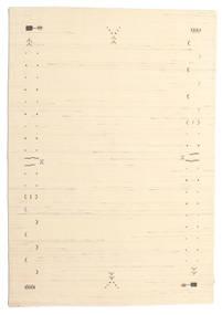 Gabbeh Loom Frame - Bělavý Koberec 160X230 Moderní Béžová/Tmavá Béžová (Vlna, Indie)