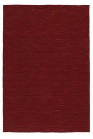 Kelim Loom - Dark Red Koberec 250X350 Moderní Ruční Tkaní Červenožlutá/Červená Velký (Vlna, Indie)