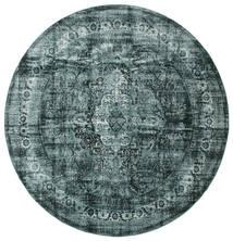 Jacinda - Tmavý Koberec Ø 300 Moderní Oválný Tyrkysově Modré/Modrá Velký ( Turecko)