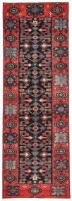 Saveh Patina Koberec 100X303 Orientální Ručně Tkaný Běhoun Tmavě Hnědá/Tmavě Červená (Vlna, Persie/Írán)