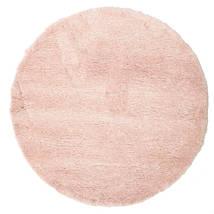 Shaggy Sadeh - Růžová Koberec Ø 150 Moderní Oválný Světle Růžová/Béžová ( Turecko)