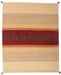 Loribaf Loom Koberec 172X241 Moderní Ručně Tkaný Tmavá Béžová/Tmavě Červená (Vlna, Indie)