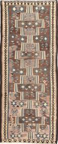 Kelim Fars Koberec 135X335 Orientální Ruční Tkaní Běhoun (Vlna, Persie/Írán)