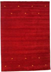 Gabbeh Loom Two Lines - Rudý Koberec 240X340 Moderní Červená/Tmavě Červená (Vlna, Indie)