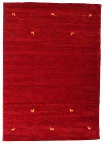Gabbeh Loom Two Lines - Rudý Koberec 160X230 Moderní Červená/Tmavě Červená (Vlna, Indie)