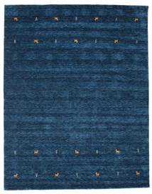 Gabbeh Loom Two Lines - Tmavě Modrý Koberec 240X290 Moderní Tmavě Modrý (Vlna, Indie)
