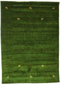 Gabbeh Loom Two Lines - Zelená Koberec 160X230 Moderní Tmavě Zelený (Vlna, Indie)