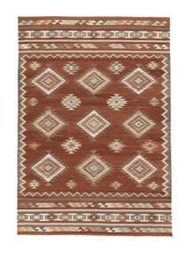 Kelim Malatya Koberec 190X290 Moderní Ruční Tkaní Tmavě Červená/Červená (Vlna, Indie)