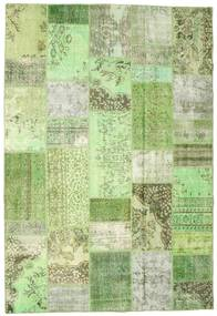 Patchwork Koberec 202X297 Moderní Ručně Tkaný Světle Zelená/Pastelově Zelená (Vlna, Turecko)
