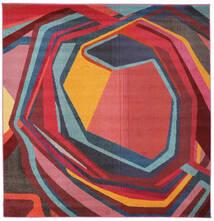 Duet Koberec 225X225 Moderní Čtvercový Červenožlutá/Černá ( Turecko)