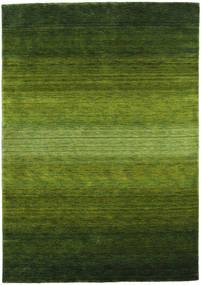 Gabbeh Rainbow - Zelená Koberec 160X230 Moderní Tmavě Zelený/Olivově Zelený (Vlna, Indie)