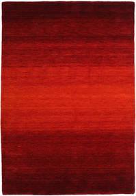 Gabbeh Rainbow - Rudý Koberec 160X230 Moderní Červenožlutá/Tmavě Červená/Tmavě Hnědá (Vlna, Indie)