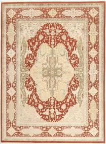 Tabriz Royal Koberec 270X367 Orientální Ručně Tkaný Béžová/Tmavá Béžová/Červená Velký ( Indie)