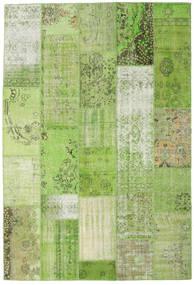 Patchwork Koberec 201X299 Moderní Ručně Tkaný Světle Zelená/Zelená (Vlna, Turecko)