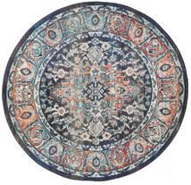 Elnath Koberec Ø 150 Moderní Oválný Světle Šedá/Tmavošedý ( Turecko)
