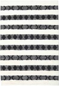 Shaula - Černá/White Koberec 200X300 Moderní Ruční Tkaní Béžová/Bílý/Krém (Vlna, Indie)
