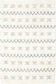 Shedir - White Koberec 160X230 Moderní Ruční Tkaní Béžová/Bílý/Krém (Vlna, Indie)