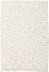 Rut - Ice Blue Melange Koberec 160X230 Moderní Ruční Tkaní Světle Šedá/Béžová/Bílý/Krém (Vlna, Indie)