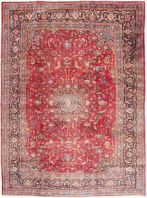 Mašhad Koberec 295X395 Orientální Ručně Tkaný Světle Růžová/Tmavě Červená Velký (Vlna, Persie/Írán)