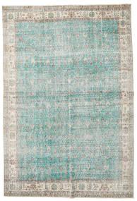 Taspinar Koberec 207X300 Orientální Ručně Tkaný Světle Šedá/Tyrkysově Modré (Vlna, Turecko)
