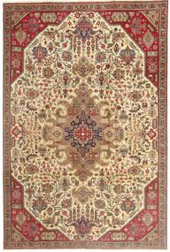 Tabriz Patina Koberec 190X280 Orientální Ručně Tkaný Světle Hnědá/Tmavá Béžová (Vlna, Persie/Írán)