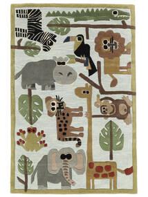 Zoo Handtufted Koberec 120X180 Moderní Světle Modrý/Světle Šedá (Vlna, Indie)
