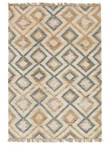 Venkovní Koberec Patagonia Jute Koberec 170X240 Moderní Ruční Tkaní Světle Šedá/Béžová (Jutové Koberečky Indie)