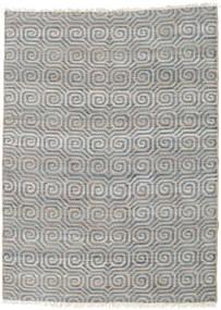 Venkovní Koberec Thar Jute Koberec 170X240 Moderní Ruční Tkaní Světle Šedá/Modrá (Jutové Koberečky Indie)