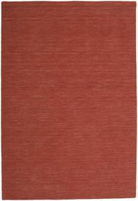 Kelim Loom - Červenožlutá Koberec 200X300 Moderní Ruční Tkaní Tmavě Červená (Vlna, Indie)