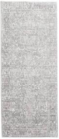 Maharani - Šedá Koberec 80X200 Moderní Běhoun Světle Šedá/Bílý/Krém ( Turecko)