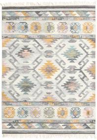 Mirza Koberec 160X230 Moderní Ruční Tkaní Světle Šedá/Béžová (Vlna, Indie)