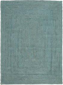 Venkovní Koberec Frida Color - Turquoise Koberec 140X200 Moderní Ruční Tkaní Tyrkysově Modré/Tyrkysově Modré (Jutové Koberečky Indie)