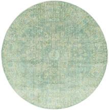 Maharani - Zelená Koberec Ø 200 Moderní Oválný Pastelově Zelená ( Turecko)