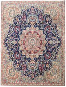 Kerman Patina Koberec 230X305 Orientální Ručně Tkaný Světle Šedá/Tmavá Béžová (Vlna, Persie/Írán)