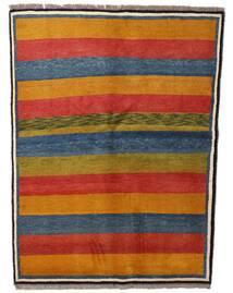 Gabbeh Rustic Koberec 147X195 Moderní Ručně Tkaný Světle Hnědá/Tmavě Modrý (Vlna, Persie/Írán)