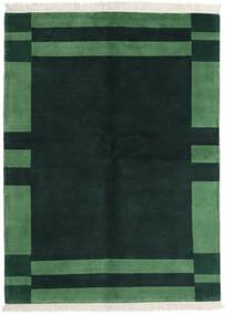 Gabbeh Indické Koberec 170X230 Moderní Ručně Tkaný Tmavý Turquoise/Tmavě Zelený (Vlna, Indie)