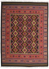 Kelim Marmaris Koberec 250X350 Moderní Ruční Tkaní Tmavě Červená/Černá Velký (Vlna, Indie)
