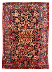 Nahavand Old Koberec 153X220 Orientální Ručně Tkaný Tmavě Červená/Červenožlutá (Vlna, Persie/Írán)