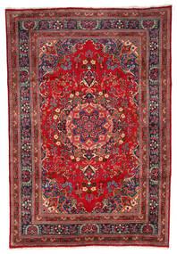 Mašhad Koberec 199X297 Orientální Ručně Tkaný Tmavě Červená/Tmavě Hnědá (Vlna, Persie/Írán)