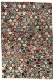 Moroccan Berber - Afghanistan Koberec 116X177 Moderní Ručně Tkaný Tmavošedý/Černá (Vlna, Afghánistán)