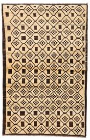 Moroccan Berber - Afghanistan Koberec 110X173 Moderní Ručně Tkaný Béžová/Tmavě Hnědá/Tmavá Béžová (Vlna, Afghánistán)