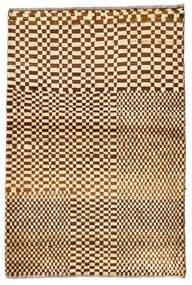 Moroccan Berber - Afghanistan Koberec 92X140 Moderní Ručně Tkaný Tmavá Béžová/Béžová (Vlna, Afghánistán)