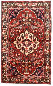 Rudbar Koberec 97X162 Orientální Ručně Tkaný Tmavě Hnědá/Tmavě Červená (Vlna, Persie/Írán)