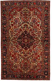 Lillian Koberec 148X240 Orientální Ručně Tkaný Tmavě Hnědá/Tmavě Červená (Vlna, Persie/Írán)