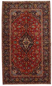 Keshan Koberec 149X253 Orientální Ručně Tkaný Tmavě Červená/Tmavě Hnědá (Vlna, Persie/Írán)